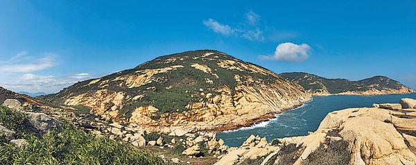 蒲台島觀奇石 香港南極