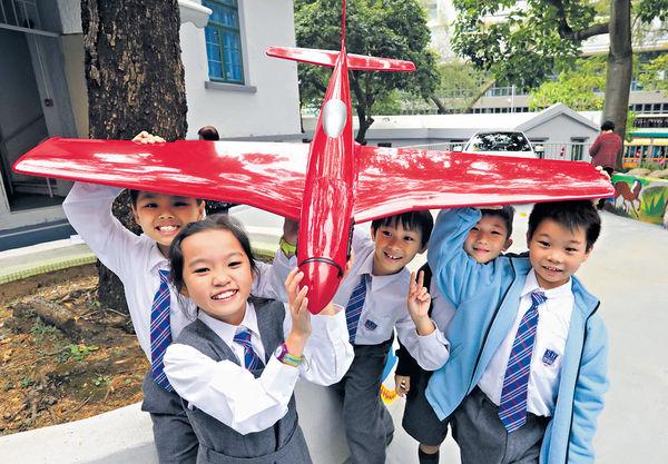小學生建造無人機 學科學數理