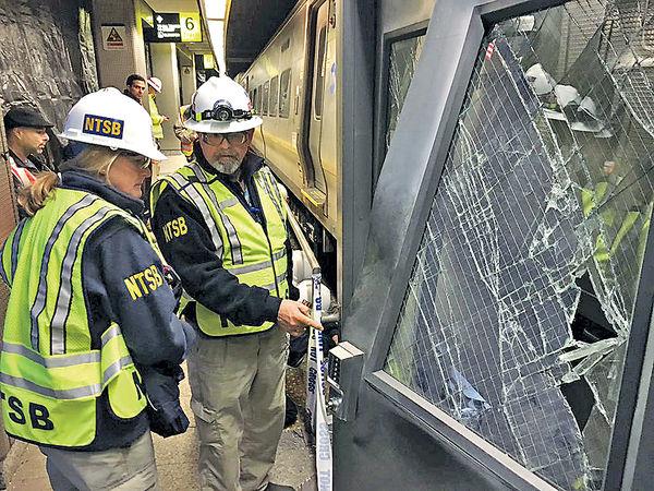 紐約火車出軌逾百客傷