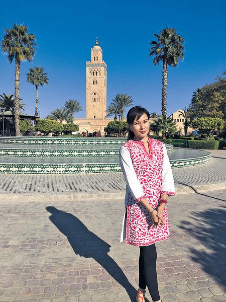 在摩洛哥古城迎接2017