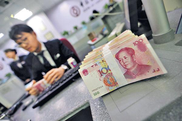 中國上月新增貸款高於預期五成