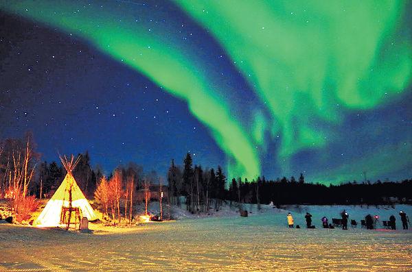 2017首季出遊 熱選北極光