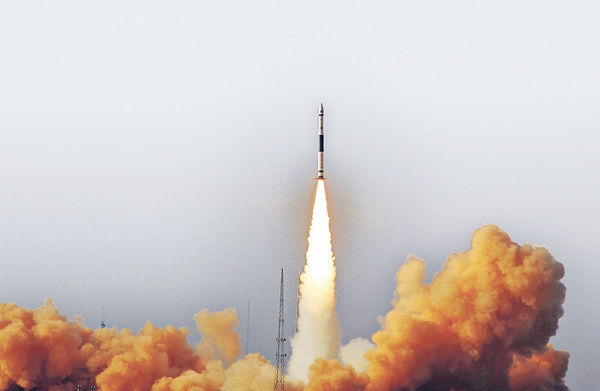 「快舟」極速補射衞星 中國添戰略利器