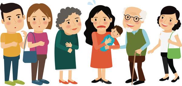 奶奶帶隊探初生孫 新手媽忙到抑鬱