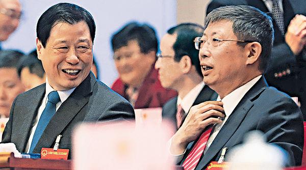 上海高層換帥 市長楊雄辭職
