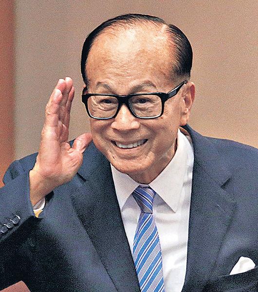 香港50大富豪榜 誠哥第19年稱冠