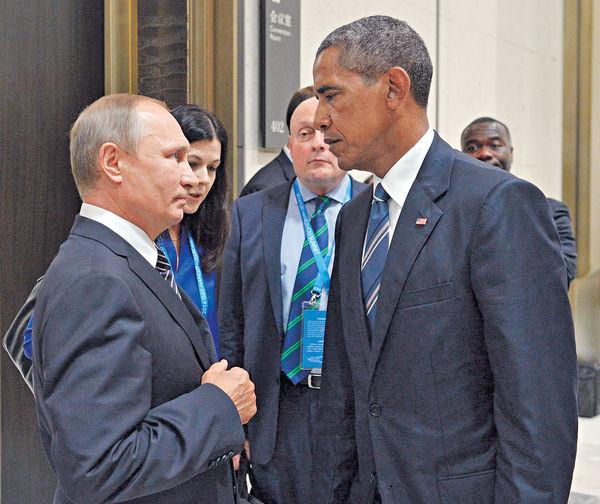 普京否認監控特朗普 斥奧巴馬政府抹黑