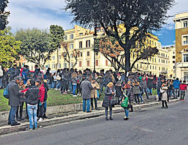 意大利連環震 羅馬地鐵疏散