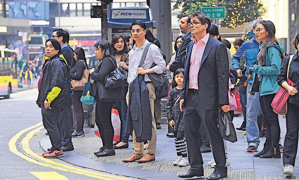 失業率維持3.3% 消費及旅遊業微跌