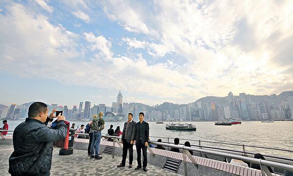 10月訪港客量 跌幅收窄