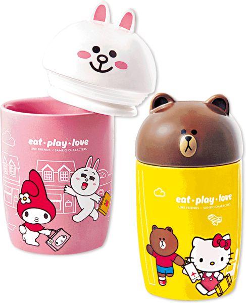 LINE x Sanrio出新杯 下周三7-Eleven換購