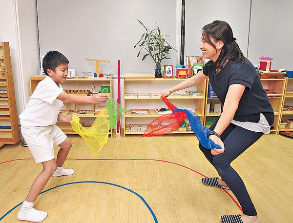放學玩健腦操 提升專注力
