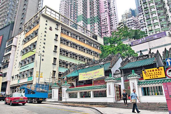 議員反對文武廟旁舊校改建青年宿舍