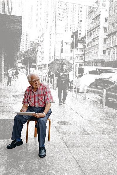 「江啟明素描作品@香港館藏選粹郵票」