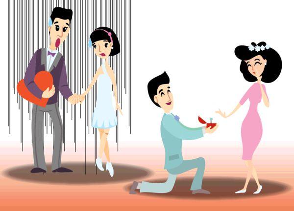 伴娘男友擬婚禮上 即席求婚被批騎劫