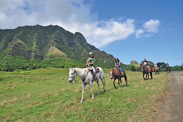 夏威夷大牧場 漫遊侏羅紀場景