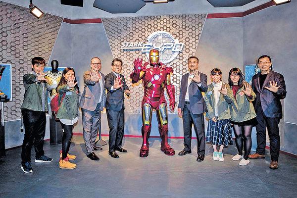 蘇錦樑入迪士尼頒獎 率先去玩Iron Man飛行車