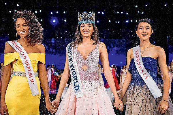 19歲波多黎各學生 當選世界小姐