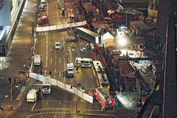柏林恐襲 貨車撞市集12死48傷