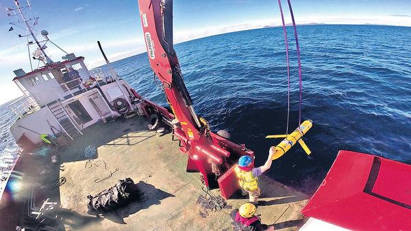 中國國防部:已於南海歸還美軍探測器