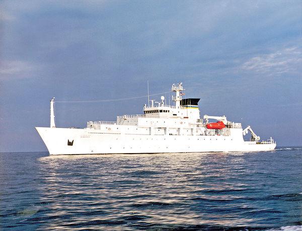 間諜船測量南海 美劍指中國潛艇