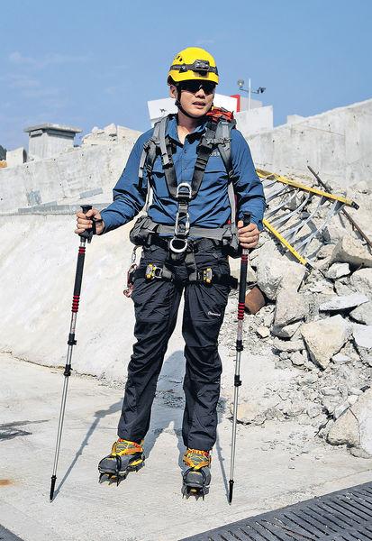 消防處3月設6支攀山拯救專隊