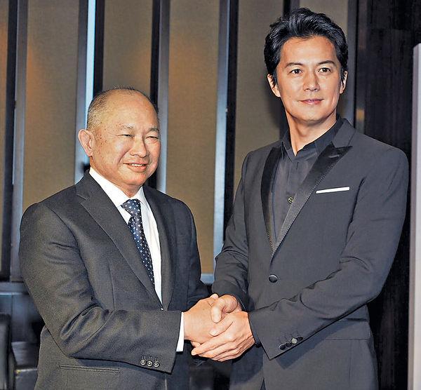 吳宇森拍《追捕》 福山雅治情迷白鴿戲