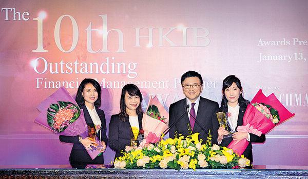 傑出財富管理師頒獎禮 中銀香港囊括3大獎