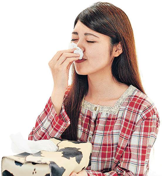潮濕助長塵蟎 鼻敏感爆發