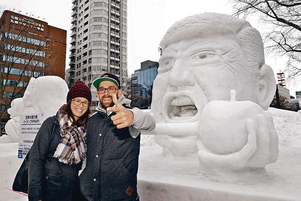 札幌賞雪祭 在地放題擦巨蟹