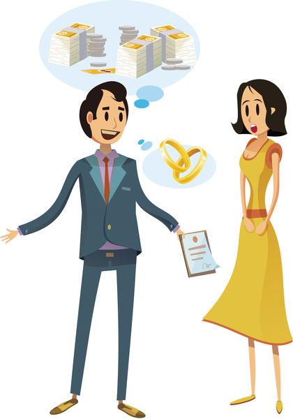 港男怕被分身家 要求婚前簽協議