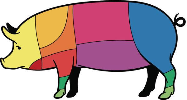 睇清豬肉脂肪量 豬頸肉最肥
