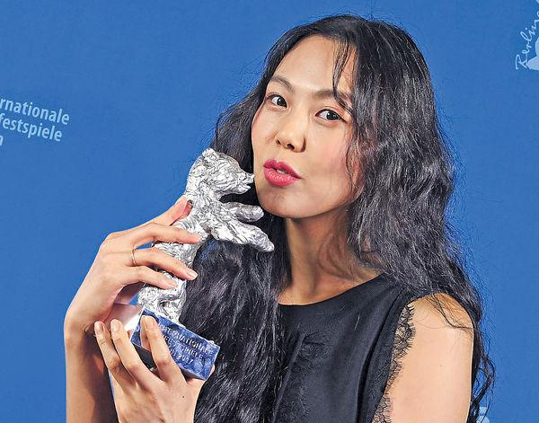 首位韓國女星揚威柏林 金敏喜封后