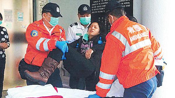 煤灰活埋工人 患腦瘤妻認屍暈倒
