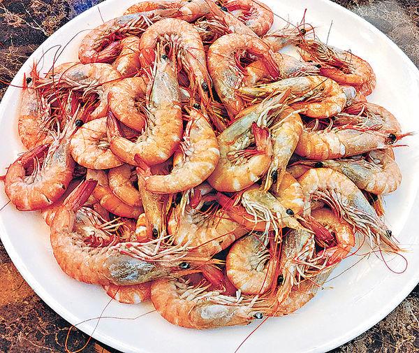 西貢健腎海鮮宴 海蝦配海參