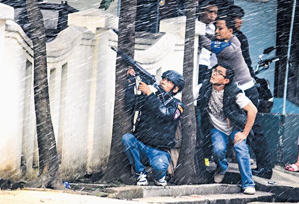 印尼政府大樓遇襲 疑犯身亡