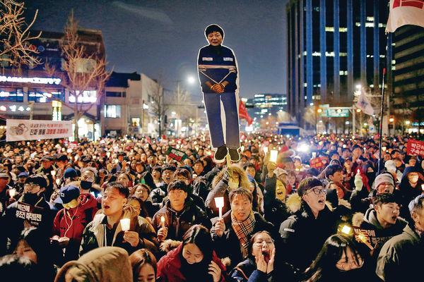 彈劾朴槿惠今宣判 韓最高警戒防衝擊