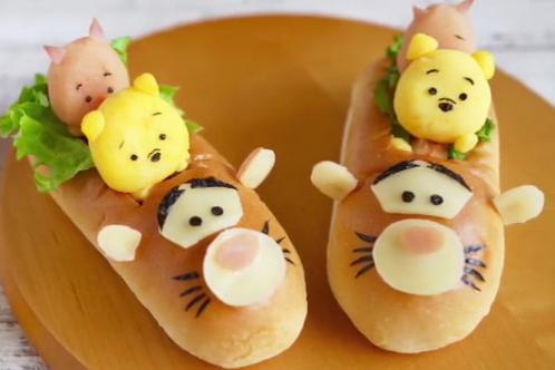 【野餐食譜】野餐必備!超可愛小熊維尼TSUM TSUM熱狗
