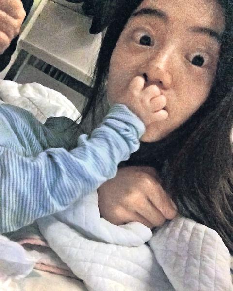 朴秀珍被兒子「封嘴」