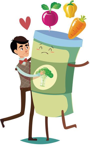 飲蔬菜汁斷食 難抗癌損健康