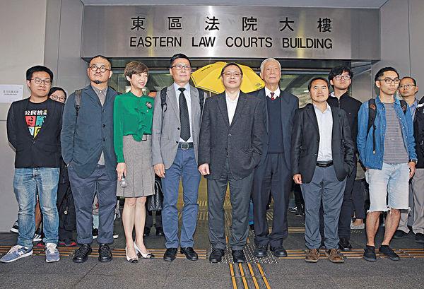 佔中9人被控 案件押後至5月審
