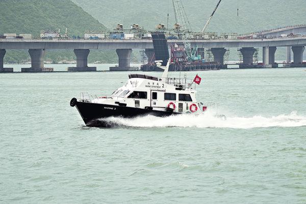 港珠澳橋意外 撈獲失蹤工人遺體