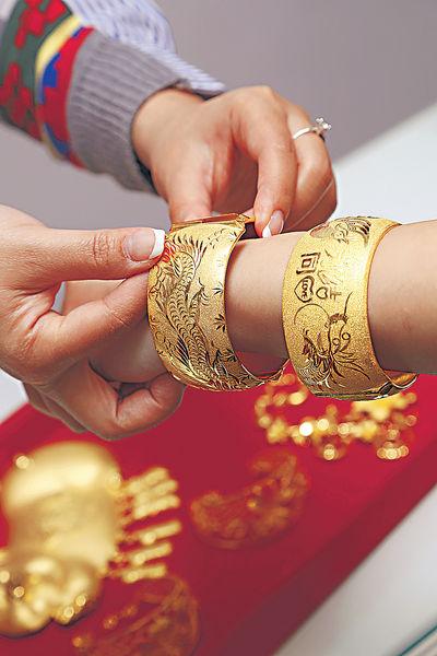 婚禮金器小百科 龍鳳鈪點分左右?