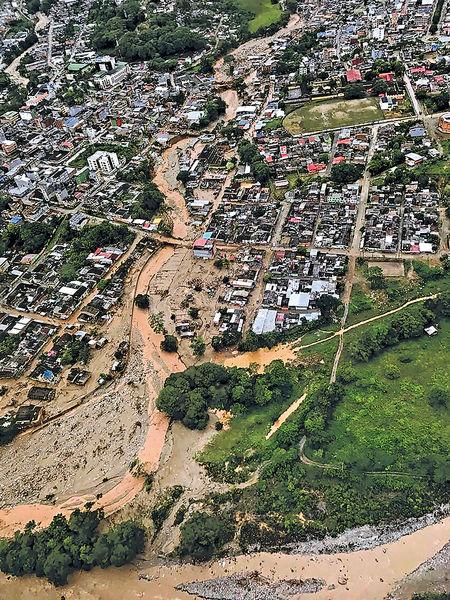 暴雨爆山泥傾瀉254死220失蹤 哥國小城一夜夷平