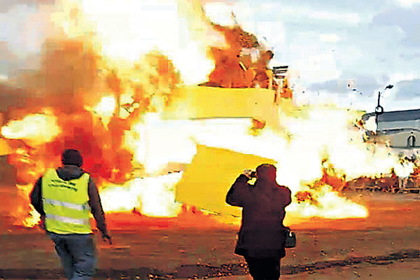 巴黎營火節慶爆炸30傷 不涉恐襲