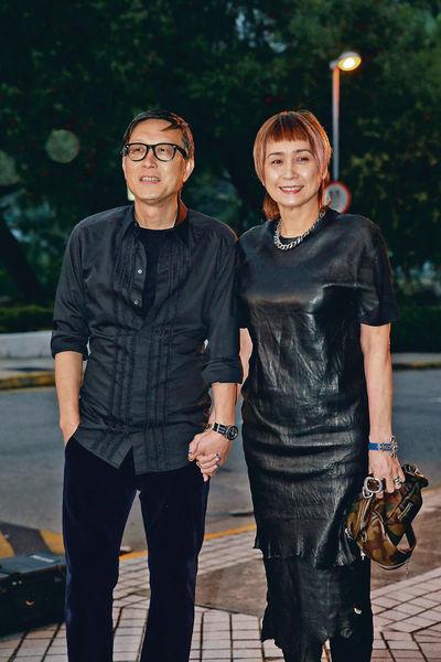 劉偉強57歲慶生 馮德倫隻身赴會