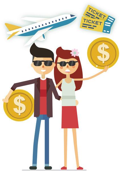 孖高收入男友旅行AA制 女友怨計較