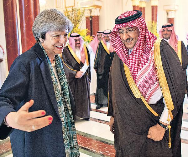訪沙特商經貿 文翠珊拒戴頭巾