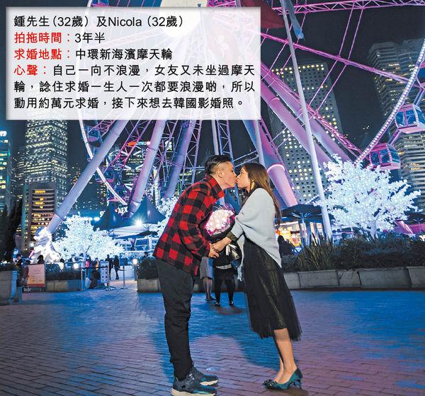 求婚新招 海外美景 歌舞助興