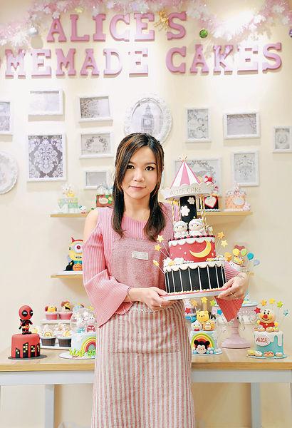 千嬅御用蛋糕師開班日日爆 月賺$8萬